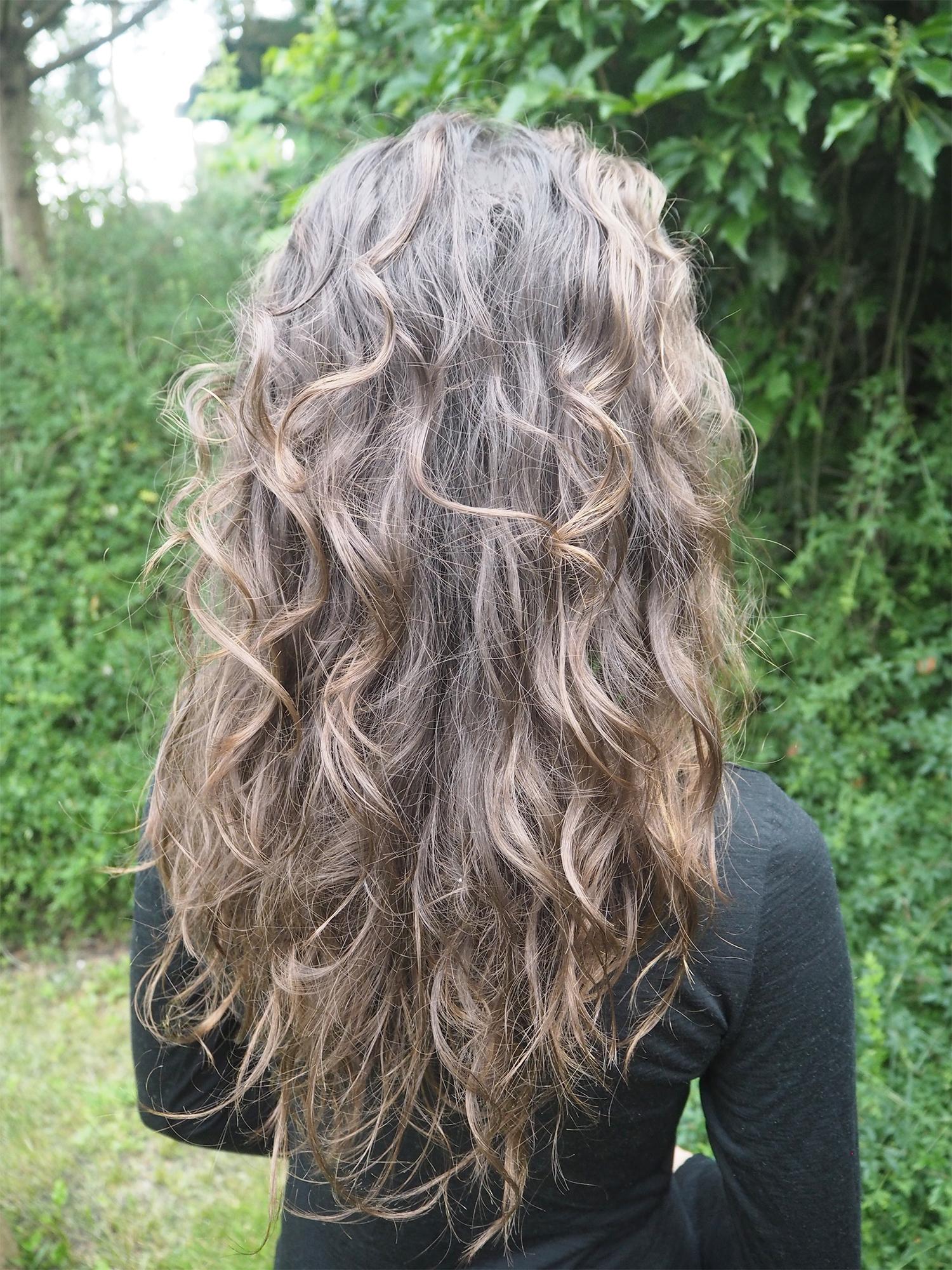 Curly Girl No Poo Hair