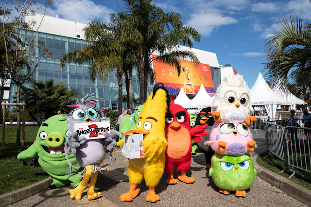 THE ANGRY BIRDS MOVIE 2 Invade Cannes 2019