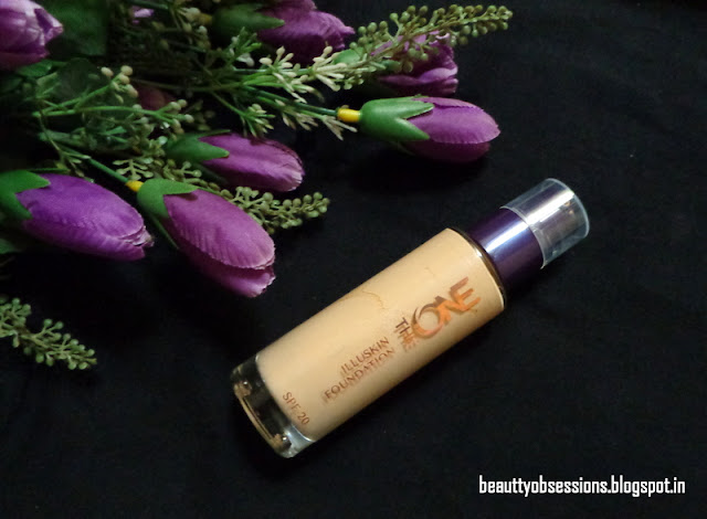"Oriflame The ONE Illuskin Foundation ""Natural Beige""- Review & Swatches"