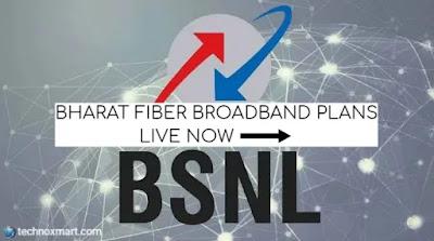bsnl bharat fiber broadband plans