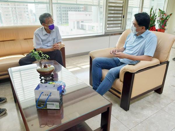彰化縣榮服處拜會縣府勞工處 促進退除役官兵就業合作