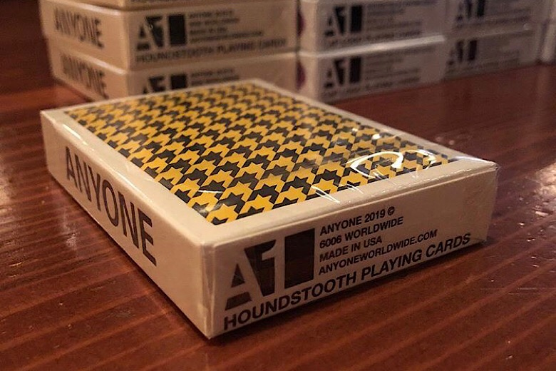 1 Deck Of Houndstooth Playing Cards By Anyone Worldwide 1000 Made 6006