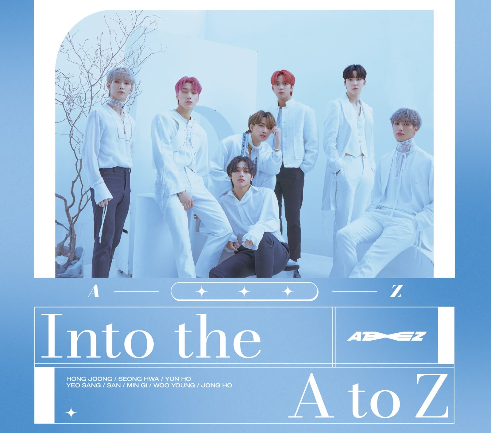 ateez comeback into the a to z
