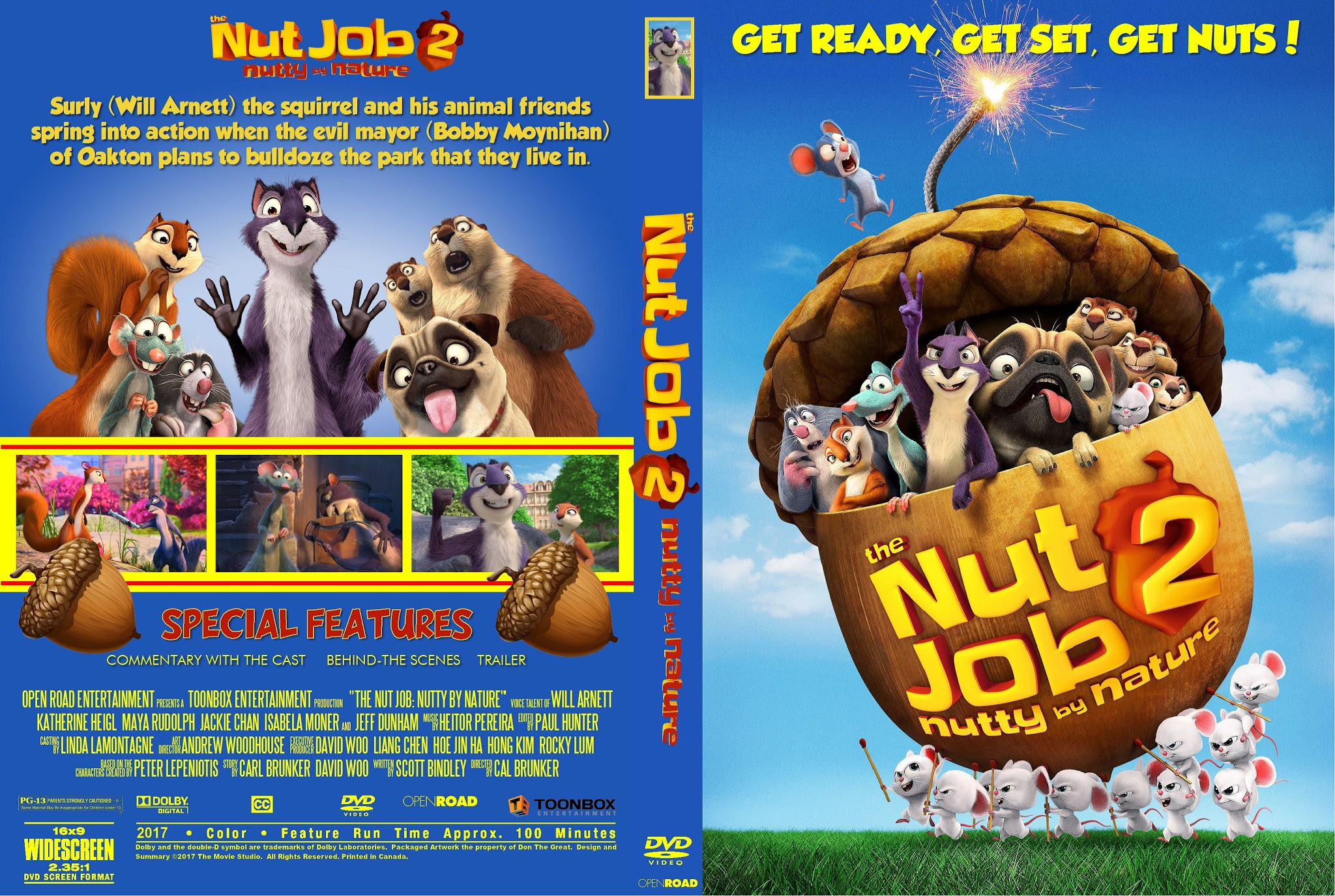 The Nut Job Dvd Label