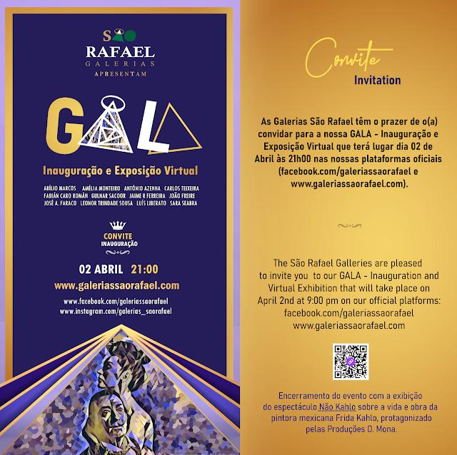 Convite Inauguração Galerias São Rafael
