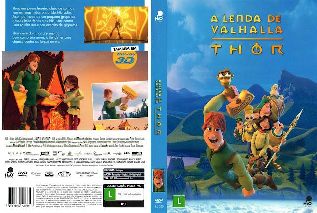 Capa DVD A LENDA DE VALHALLA THOR