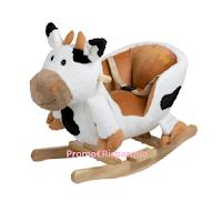 Gioca e vinci gratis una bellissima dondolina mucca di BabyGo (Valore 54,26 euro)