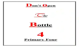 شيتات اسئلة واجابات بالترجمة على قصة Don't open the bottle