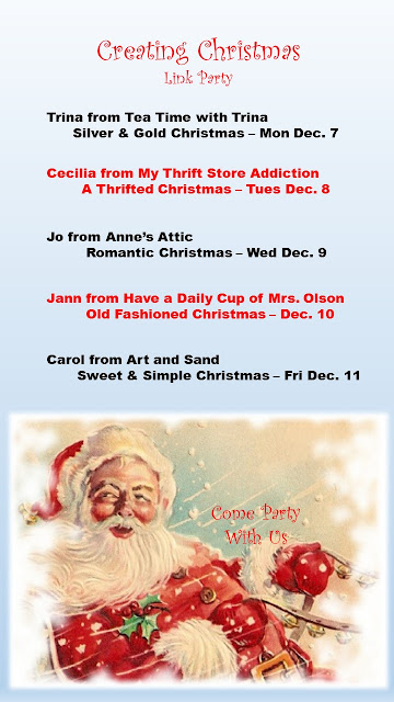 Coming Soon: Holiday Inspiration and Creating Christmas Link Parties mythriftstoreaddiction.blogspot.com