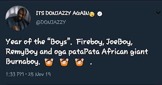 Don Jazzy To Change REMA's Name To REMYBOY?