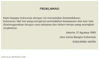Teks PROKLAMASI www.simplenews.me