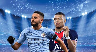 Details of the Champions League match today, Manchester City, against Paris Saint-Germain