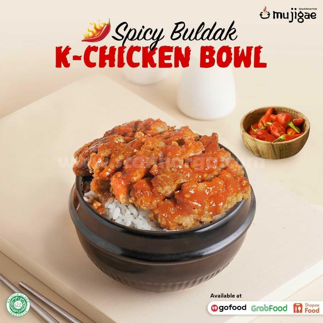 MUJIGAE Spicy Buldak K-Chicken Bowl