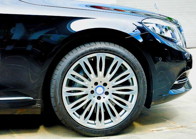 Mercedes Maybach S500 trang bị mâm đa chấu kích thước 20-Inch