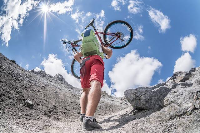 Piz Umbrail Bikebergsteigen Vinschgau GPS Track