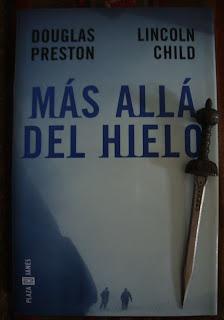 Portada del libro Más allá del hielo, de Douglas Preston y Lincoln Child