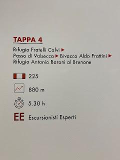 Fourth leg of Sentiero delle Orobie - Tito Terzi Exhibit