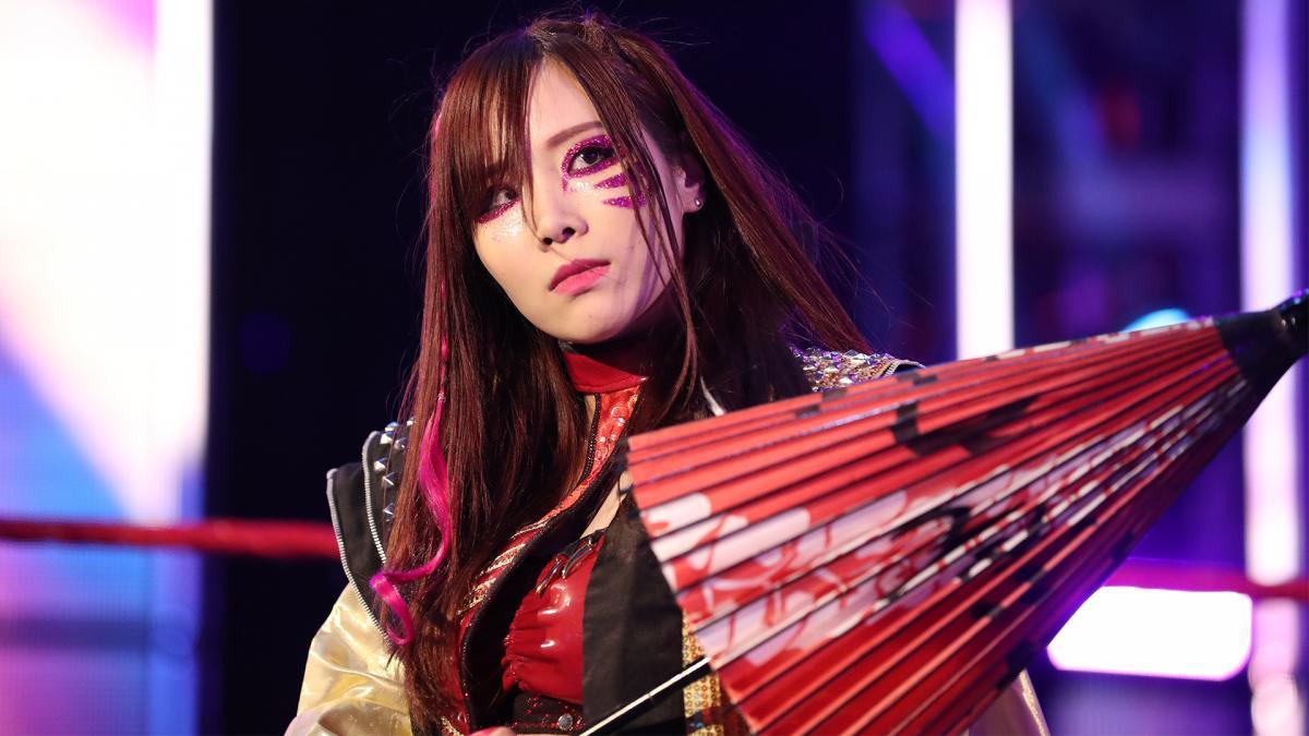 Kairi Sane provoca seu retorno a WWE