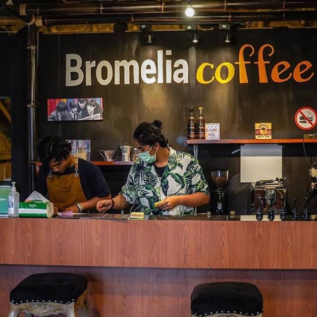 Lokasi Bromelia Coffee & Eatery Bogor