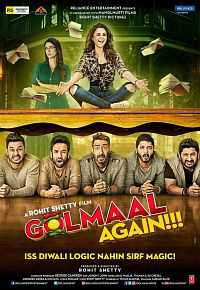 Golmaal Again (2017) 720P HD Movies Download Hindi 1GB BDRip
