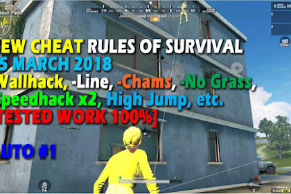 Cheat Rules of Survival Serin 1.0 Update 15 Maret 2018 !