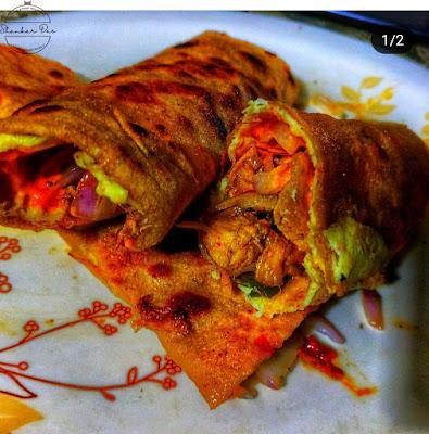 Egg Roll - Street Food India