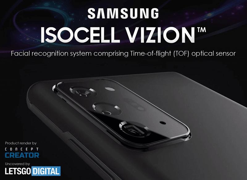 Samsung files trademark for ISOCELL Vizion ToF sensor