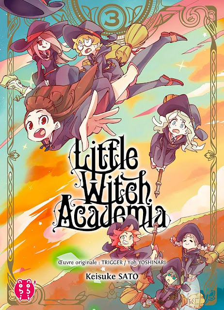 Little Witch Academia animé à voir sur Netflix