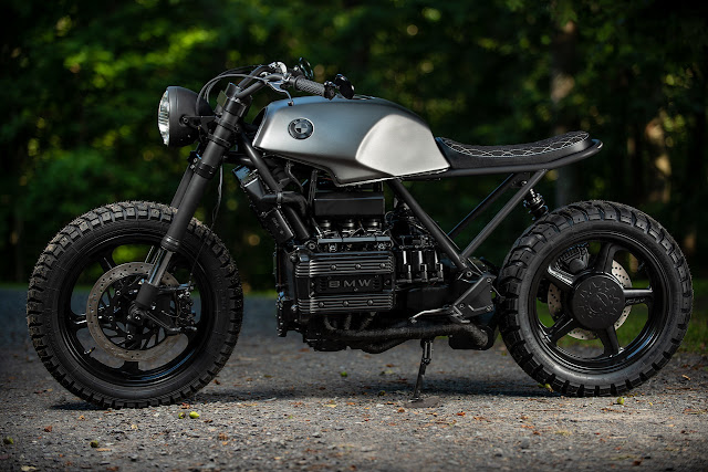 BMW K75 By Industrial Moto Hell Kustom