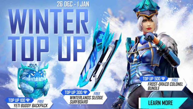 New Top-up Event Garena Free Fire