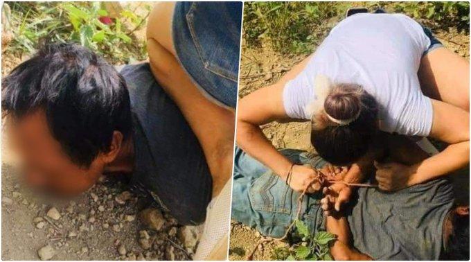 Mujer somete, detiene y amarra en HIDALGO a un violador que abusaba de un niño