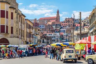 the city Madagascar Honeymoon