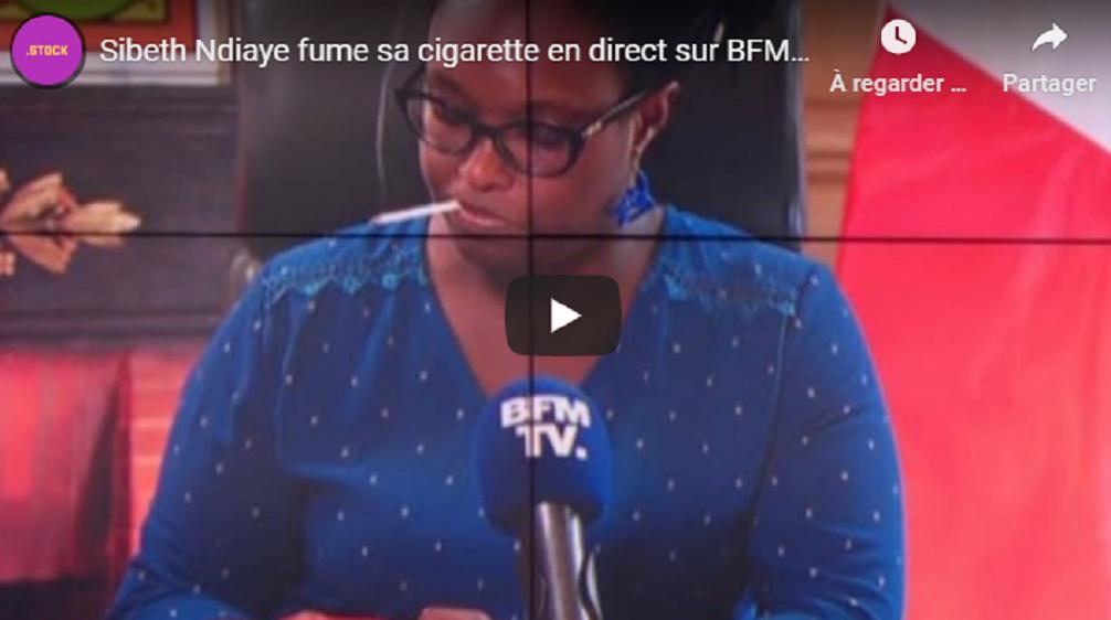 VIDEO - Sibeth Ndiaye en train de fumer sur BFM TV, la chaîne présente ses excuses