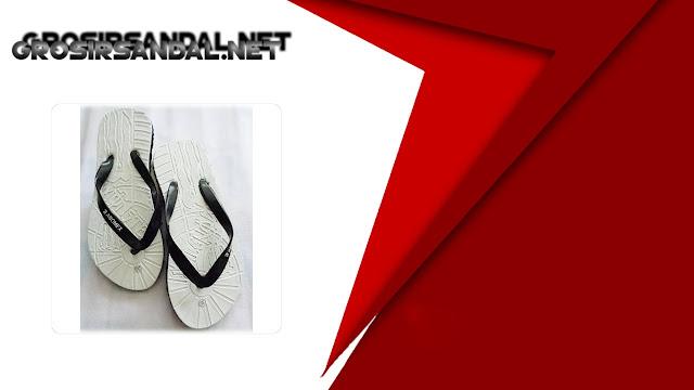 Sandal Jepit Spon Murah Pria AMX Putih