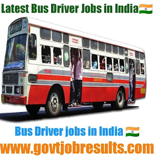 Bus Driver jobs in India 2020-21