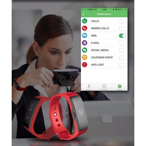 Jam Tangan Pintar SKMEI Smartwatch Bracelet Ori
