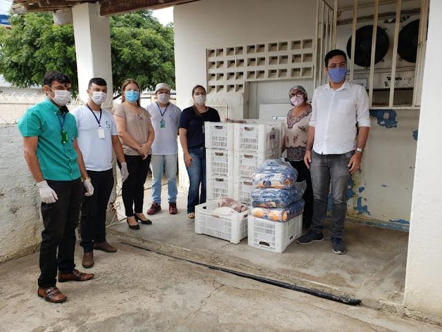 Banco de alimentos de Picuí recebe doação de gêneros alimentícios do Ces/UFCG