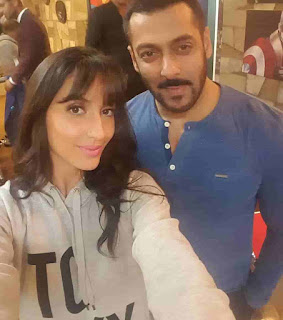 Nora Fatehi With Salman Khan