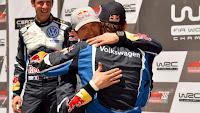 RALLY - El campeón Ogier y su compañero Mikkelsen brindaron a Volkswagen un final perfecto