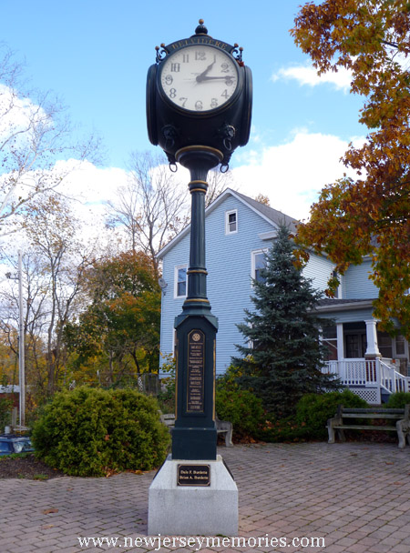 Town clock of Belvidere, New Jersey