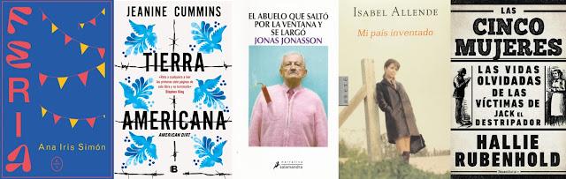Novelas favoritas febrero
