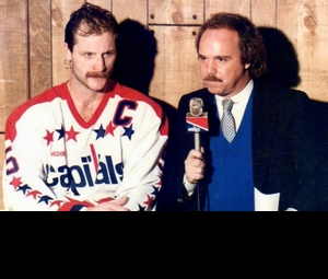 The awkward silence when Al Koken asked Rod Langway who had the sexier mustache