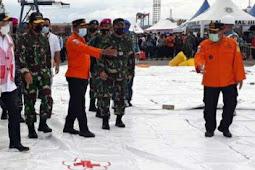 Tim SAR Gabungan Berhasil Temukan Posisi Black Box Sriwijaya Air SJ-182