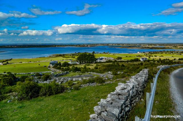 Irlanda, região do Burren, no Condado de Clare