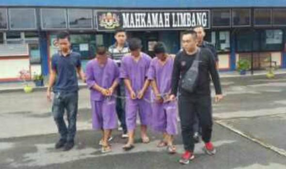 Tiga lelaki telah ditahan berhubung kes rogol yang membabitkan seorang kanak-kanak perempuan