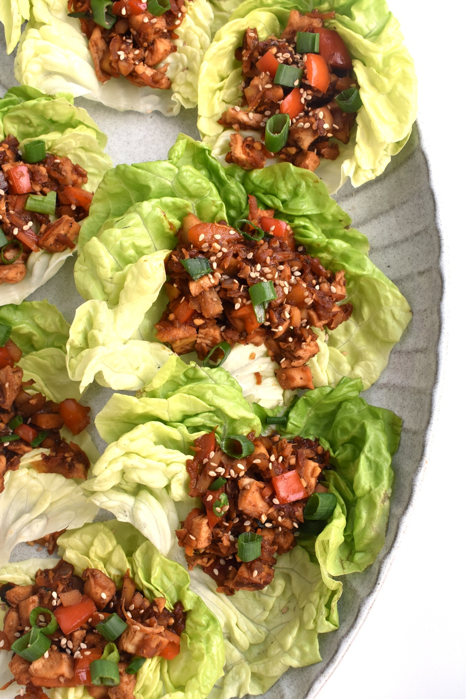 Healthy Copycat Chicken Lettuce Wraps