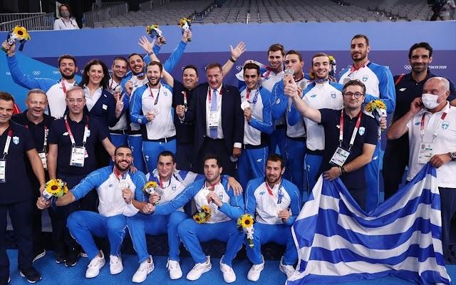 Tην Τετάρτη (11/8) στις 12:20 η άφιξη της Εθνικής πόλο στην Αθήνα