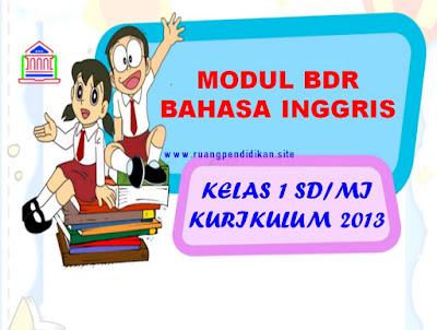 Modul BDR Bahasa Inggris