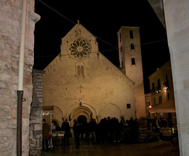 cattedrale, sagra, bancarelle, monumento, Ruvo di Puglia, turisti