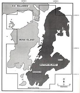 Gambar 1. Peta Lokasi Buton